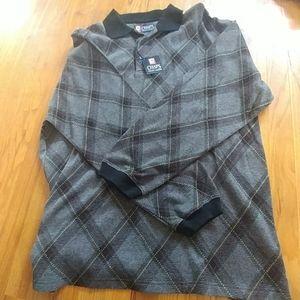 Mens Chaps Ralph Lauren Quarter Button Sweater